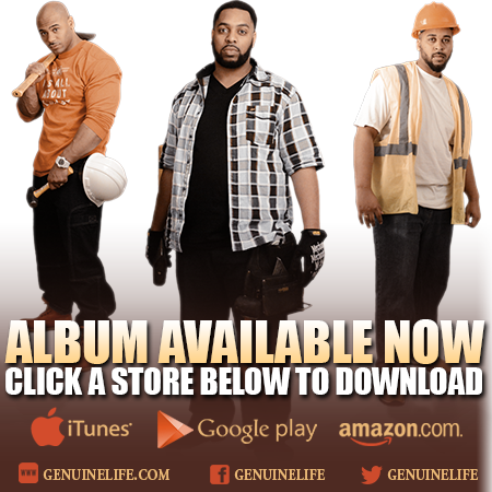 Genuine Life - iTunes, Google Play, Amazon